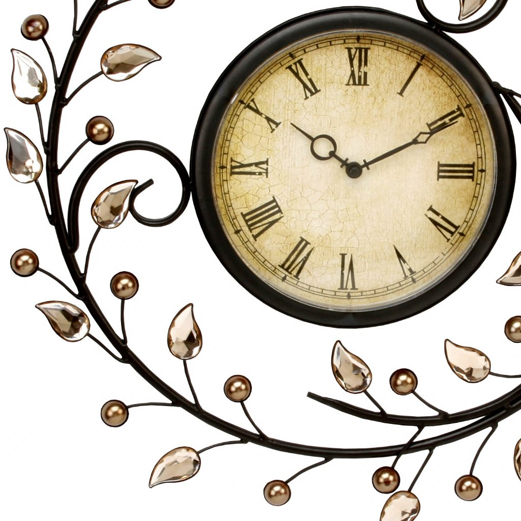 Juliana Home Living Autumn Leaves Wall Clocks Priisma