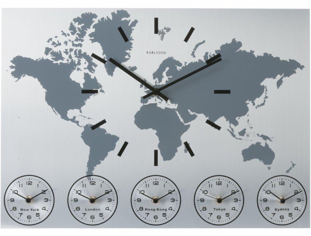 V 228 Ggklocka Karlsson World Time V 228 Ggklockor Priisma