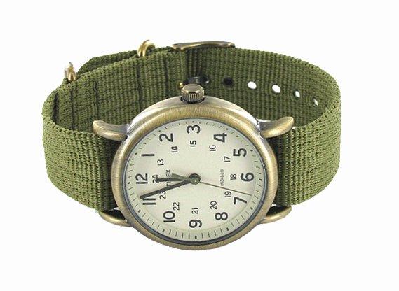 Timex Weekender Bronze Olive 38mm At Priisma Watches