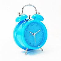 Bright Retro Alarm Blue