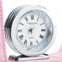 L.C.C. Travel Alarm Chrome Pink