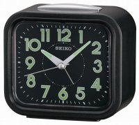 Seiko Old Timer Sweep Snooze Light Black