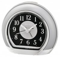 Seiko Lavish Sweep Snooze Light Silver