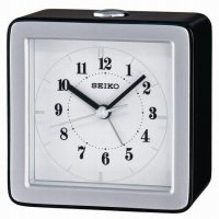 Seiko Stylish Sweep Snooze Light Silver