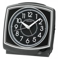 Seiko One Bell LOUD Sweep Snooze Black