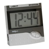 Wm.Widdop Clear LCD Alarm