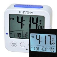 Rhythm Night Light 2 x Increase Alarm Snooze