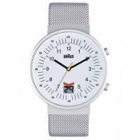 Braun RC Date White Steel