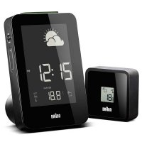 Braun RCC Weather Station Alarm Black