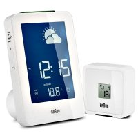 Braun RCC Weather Station Alarm White