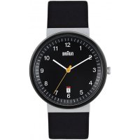 Braun Steel Black Bauhaus Ceramic Leather