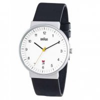 Braun Steel White Bauhaus Leather