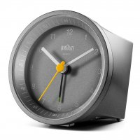 Braun Quartz Alarm Grey
