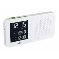 Braun RCC Clockradio White