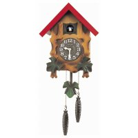 Rhythm Japanese Cuckoo Clock Wood