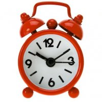 Present Time Alarm XXS Red