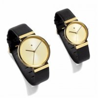 Jacob Jensen DIMENSION Gold Plated Sapphire 855 28mm
