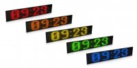 Display Text Time Date Temp K8 250