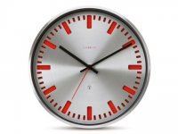 Colour Clock Red