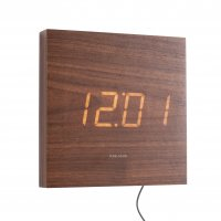 Square LED Dark Wood 20