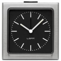 LEFF Block Steel Black Index Alarm
