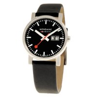 Mondaine EVO SBB Big Date Brushed Black 35 mm