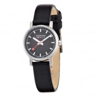 Mondaine EVO SBB Brushed Black 26 mm