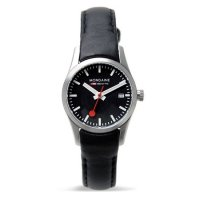 Mondaine Retro Polished Black 28 mm