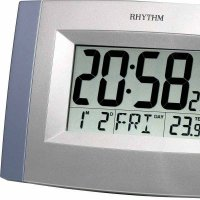 Rhythm LCD Thermo Day Date