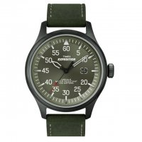 Timex Expedition Military Field Black PVD Green