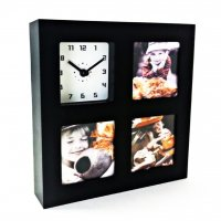 Photo Frame Square Black