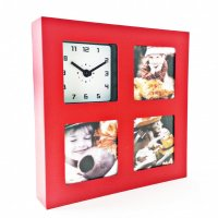 Photo Frame Square Red