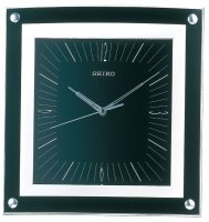Seiko Square Bezel Sweep Black 32