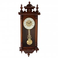 Royal Finial Regulator Walnut