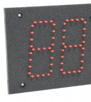 Hermetic LED 1 Timer Red 49