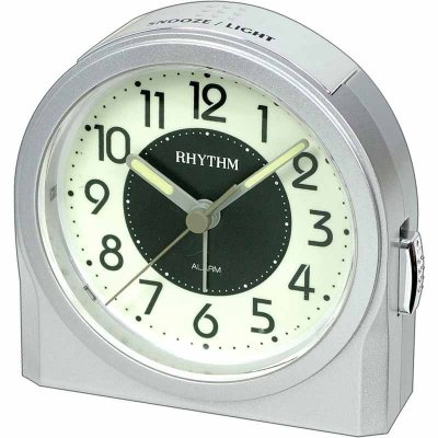 Rhythm Silent Sweep Snooze Silver