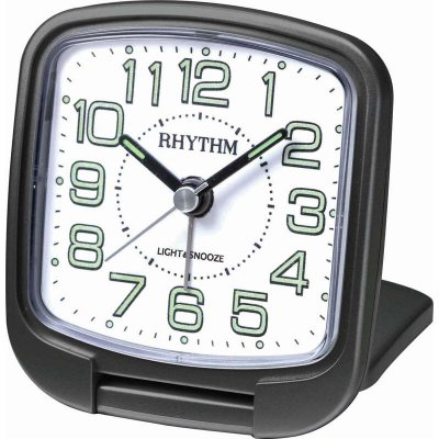 Rhythm Travel Snooze Sweep Light Black