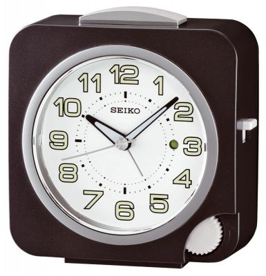 Seiko Front Setting Sweep Indicator Snooze Black