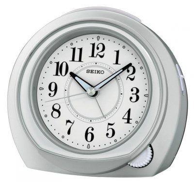 Seiko Easy Setting Sweep Snooze Silver