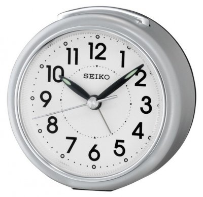 Seiko Perfect Sweep Snooze Light Silver