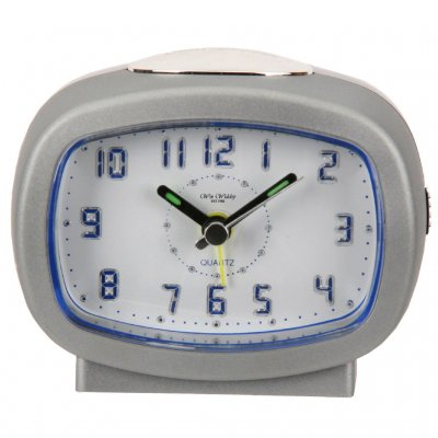 Wm.Widdop Digit Light Snooze Silver