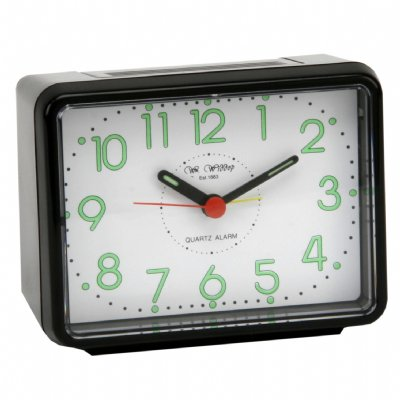 Wm.Widdop Rectangular Alarm Black