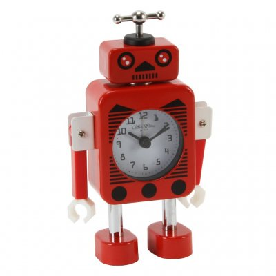 Wm.Widdop Robot Alert Red