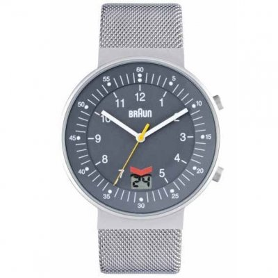 Braun RC Date Grey Steel