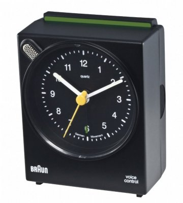 Braun Voice Activated Alarm Black
