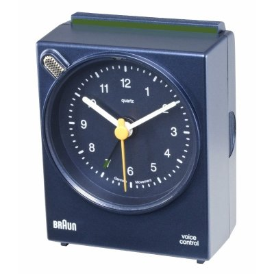 Braun Voice Activated Alarm Blue