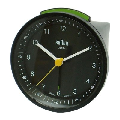 Braun Quartz Alarm Black