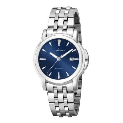 Candino Steel Blue 38mm