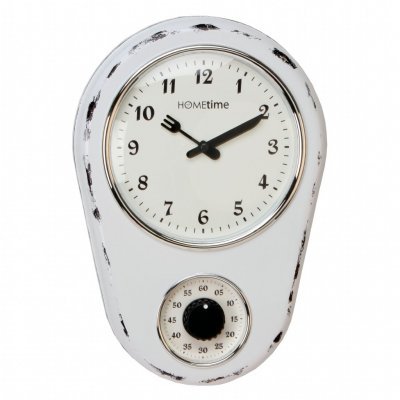 Ant Kitchen Timer Shabby White