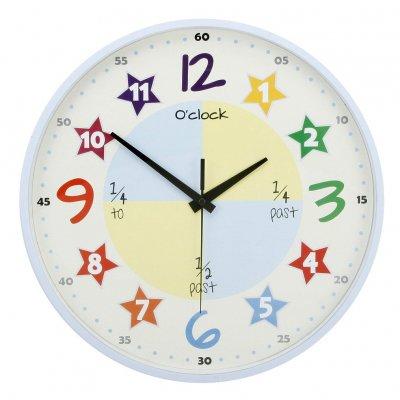 Väggklocka - HOMEtime Teach The Time 740b6e2573700